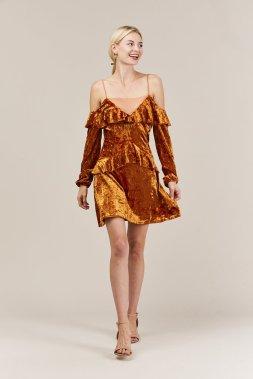 orange_ruffles_velvet_dress_beehive_2_1024x1024